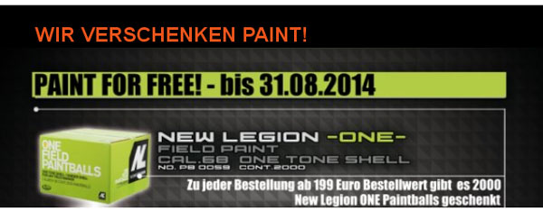 Paint 4free bis Ende August