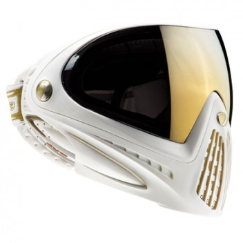 Paintball Maske DYE I4 Thermal LTD white/gold