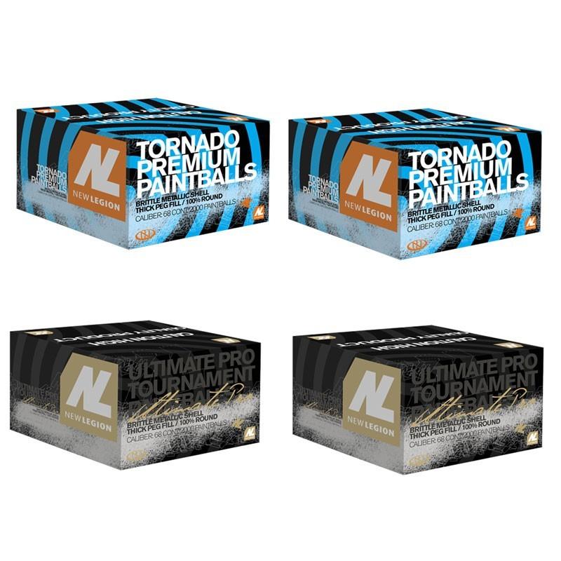 New Legion paintball paket - 2 x Tornado, 2 x Tornado ultimate pro